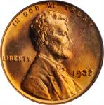 1932 Lincoln Cent. MS-67 RD (PCGS).