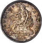 1876-S Trade Dollar. Type I/I. MS-64 (PCGS).