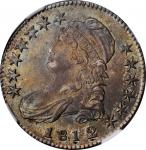 1812/1 Capped Bust Half Dollar. O-102. Rarity-2. Small 8. MS-63+ (NGC).