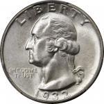 1932-D华盛顿1/4美金 PCGS MS 66 Washington Quarter