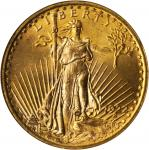 1922 Saint-Gaudens Double Eagle. MS-64 (NGC).