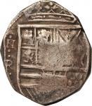 COLOMBIA. 8 Reales, ND (1627-32). Santa Fe de Nuevo Reino (Bogota) Mint. Philip IV (1621-65). FINE.