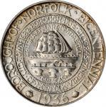 1936 Norfolk, Virginia Bicentennial. Norfolk. MS-65 (PCGS). OGH.