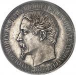 FRANCE Second Empire / Napoléon III (1852-1870). Essai de 5 francs tête nue, grosse tête, par Barre