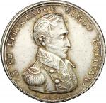 World Coins, Peru.  Simon Bolivar (1783-1830), . Commemorative medal 1825 to celebrate the victory o