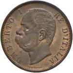 Savoy Coins;Umberto I (1878-1900) 10 Centesimi 1894 B - Nomisma 1020 CU Colpetto al bordo - qFDC;30