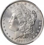 1883 Morgan Silver Dollar. MS-67+ (NGC).