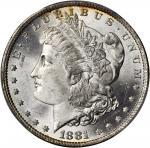 1881-O Morgan Silver Dollar. MS-66 (PCGS).