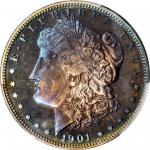 1901 Morgan Silver Dollar. Proof-67 (PCGS).