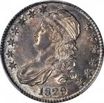 1829 Capped Bust Half Dollar. O-115. Rarity-1. Small Letters. MS-62 (PCGS).