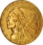 1914-D Indian Quarter Eagle. MS-63 (NGC).