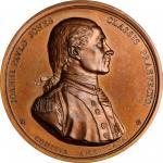 1779 Captain John Paul Jones / Bonhomme Richard vs. Serapis Medal. Paris Mint Restrike from Original