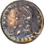 1811 Capped Bust Half Dollar. O-110. Rarity-1. Small 8. AU-55 (PCGS).