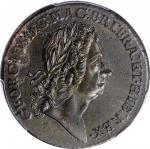 1723 Rosa Americana Twopence. Martin 3.5-E.5, W-1338. Rarity-4. MS-62 (PCGS).