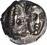 THRACE. The Danubian District. Istrus. AR Drachm (4.98 gms), ca. 4th Century B.C.