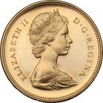 World Coins, Canada.  Elizabeth II (1952 -). 20 dollars 1967. Fr. 5 18.26 g.  27 mm.  优美