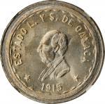 MEXICO. Oaxaca. 2 Pesos, 1915-TM. NGC MS-67.