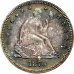 1870 Liberty Seated Quarter. Proof-65 (PCGS). CAC--Gold Label. OGH.