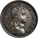 1722 Rosa Americana Penny. Martin 2.27-D.7, W-1268. Rarity-5. UTILE DULCI. MS-62.