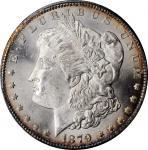 1879-CC Morgan Silver Dollar. Clear CC. MS-63 (PCGS). CAC.