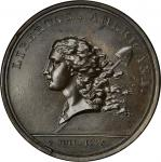 (1783) Libertas Americana medal. Betts-615. Bronze. MS-63 BN (PCGS).
