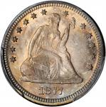 1877 Liberty Seated Quarter. MS-65 (PCGS).
