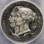 GREAT BRITAIN Victoria ヴィクトリア(1837~1901) AR Medal 1851 PCGS-SP64 UNC+