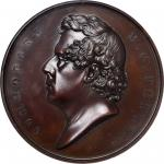 1854 (1856) Commodore Matthew C. Perry Treaty with Japan Medal. Bronze. 66 mm. By Francis N. Mitchel