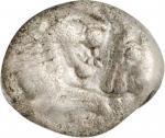LYDIA. Kroisos, 561-546 B.C. AR 1/12 Stater, Sardes Mint, ca. 564/53-550/39 B.C. NGC VF.