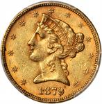 1879 Liberty Head Half Eagle. MS-61 (PCGS).