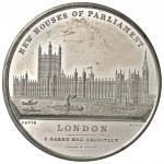 Foreign coins;INGHILTERRA Nuovo sede del Parlamento - Medaglia 1847 - Opus: Davis - MA (g 27.52 - Ø