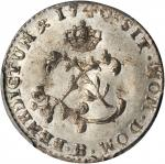 France. 1740-B Sou Marque. Rouen Mint. Vlack-51. Rarity-3. MS-63 (PCGS).