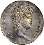 1810年意大利那不勒斯12Carlini NGC MS 60