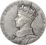 GREAT BRITAIN. George VI & Elizabeth Coronation Silver Medal, 1937. London Mint. CHOICE UNCIRCULATED