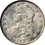 1833 Capped Bust Half Dollar. O-102. Rarity-1. MS-64 (NGC).