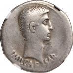 AUGUSTUS, 27 B.C.- A.D. 14. AR Cistophorus (11.63 gms), Ephesus Mint, ca. 24-20 B.C.NGC VF, Strike: