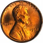 1952 Lincoln Cent. MS-66+ RD (PCGS). CAC.
