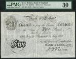 Bank of England, John Gordon Nairne (1902-1918), 」5, Plymouth 21 July 1914, serial number 40/T 65107