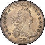 1800 Draped Bust Silver Dollar. Bowers Borckardt-192, Bolender-19. Rarity-2. AMERICAI. Mint State-63