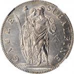 ITALY. Piedmont-Subalpine Republic. 5 Francs, AN 10 (1802). Turin Mint. NGC MS-63.