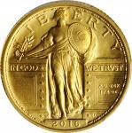 2016-W 100th Anniversary Standing Liberty Quarter. Gold. Specimen-70 (PCGS).