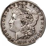 1893-S Morgan Silver Dollar. EF-40 (NGC). CAC.