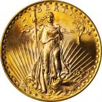 1923-D圣高登双鹰金币 PCGS MS 64