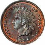 1886 Indian Cent. Type I Obverse. MS-66 RB (PCGS).