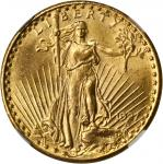 1927 Saint-Gaudens Double Eagle. MS-64 (NGC).