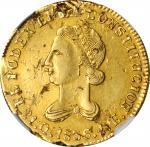ECUADOR. 4 Escudos, 1836-QUITO FP. Quito Mint. NGC EF-40.