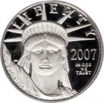 2007-W Tenth-Ounce Platinum Eagle. Proof-70 Deep Cameo (PCGS).