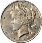 1926-D Peace Silver Dollar. MS-66+ (PCGS). CAC.