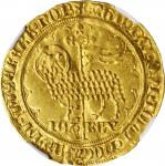 FRANCE. Mouton dOr, ND (ca. 1355). Jean II Le Bon. NGC MS-61.
