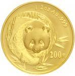 2003年熊猫纪念金币1/2盎司 完未流通